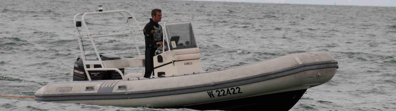 Ansprechpartner für das Motorboot